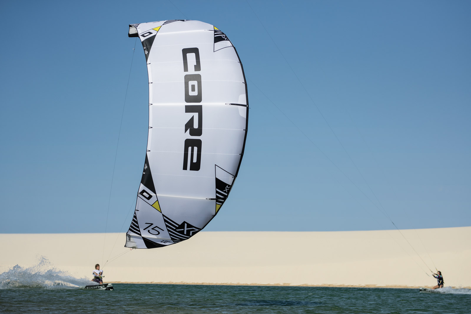 Just released from Core Kiteboarding: New Core XR6 and XR6 LW Kites